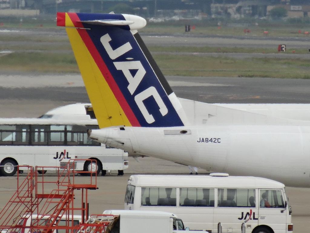 甦れ、日本エアシステム: 飛行機は、やっぱり窓側